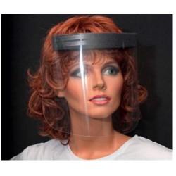 Gesichtsvisier, transparent
