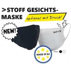 Waschbare Maske SCHWARZ